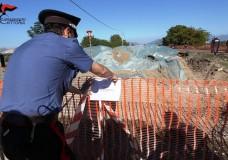 Acate – Lotta alle fumarole: Carabinieri denunciano una persona. Sequestrata area adibita a discarica abusiva