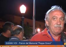 Memorial Peppe Greco: Interviste e Commenti (video)