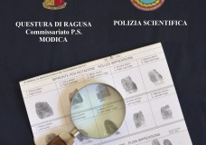 Modica – Tradito dalle impronte digitali lasciate sul luogo del furto