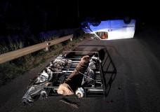 Incidente autonomo ieri sera sulla Modica Mare. Conducente guidava senza patente