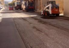 Scicli – Continuano i lavori di rifacimento di alcune strade