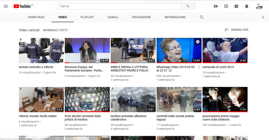 NoveTv canale YouTube