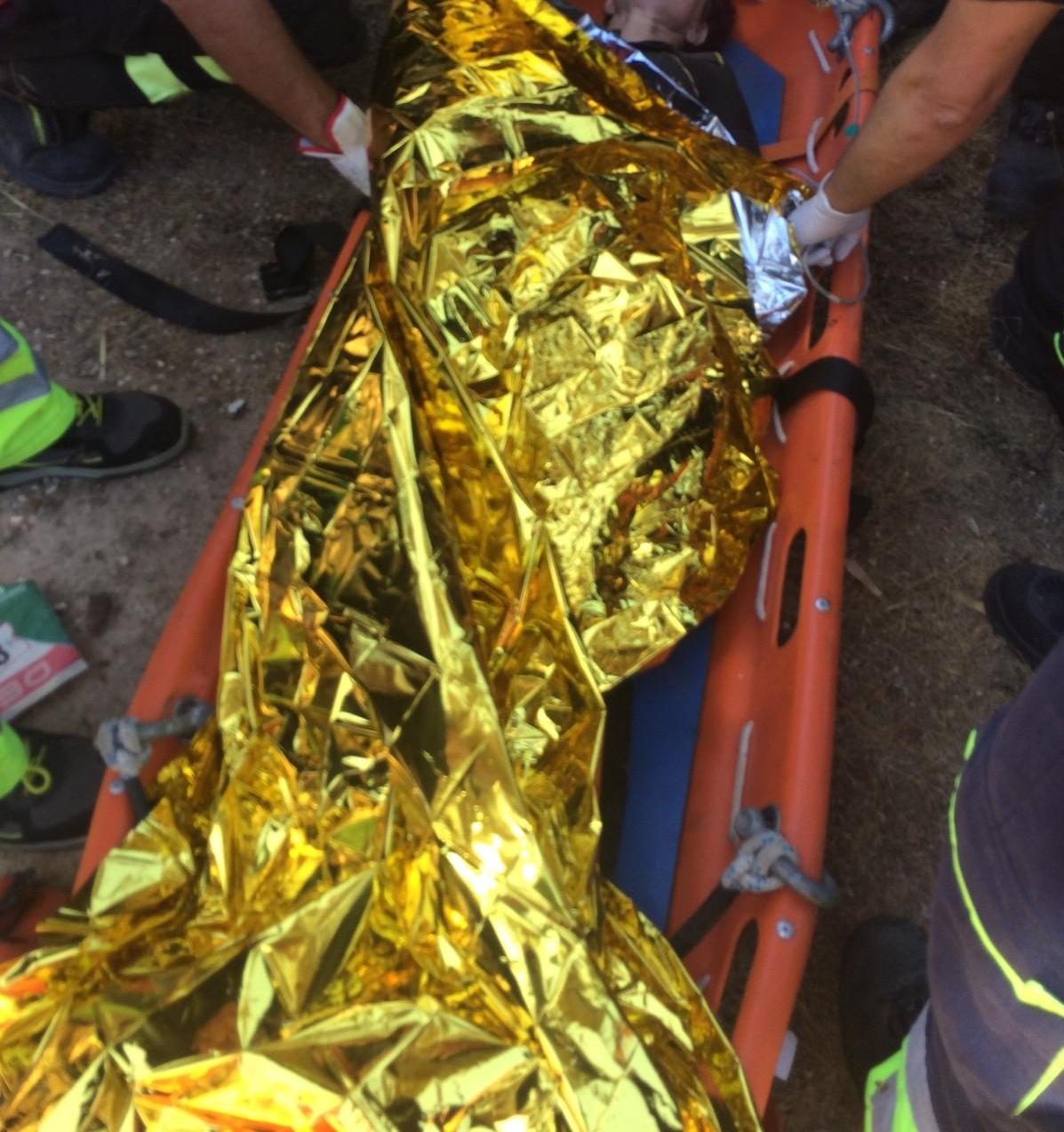 donna caduta nel burrone 3 - Novetv.com