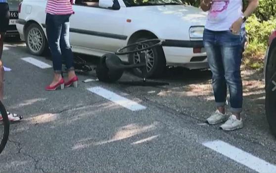 Incidente per Alex Zanardi, con la handbike contro un camion